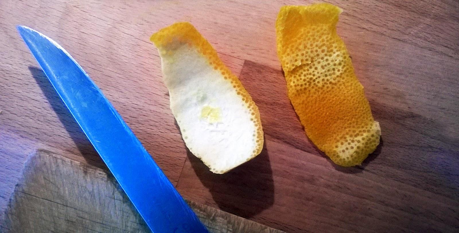 Skórka pomarańczowa DIY i Vandrer
