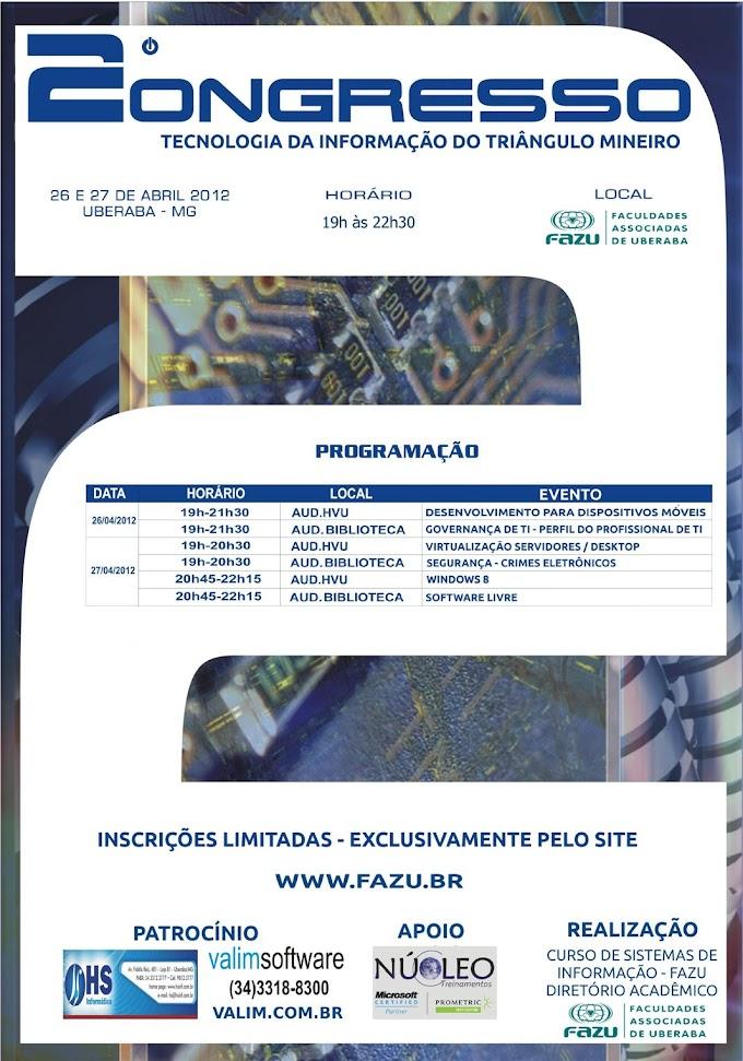 2º Congresso Tecnologia da Informação do Triângulo Mineiro