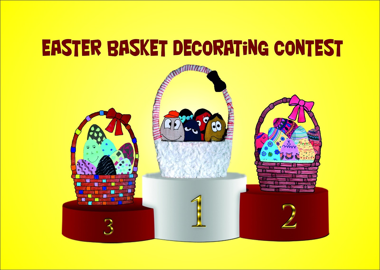 Marta english easter basket decorating contest winners for Arnal decoration