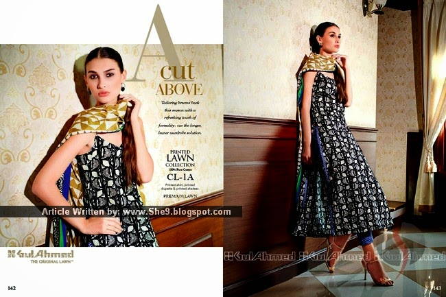 Gul Ahmed Original Printed Lawn Collection