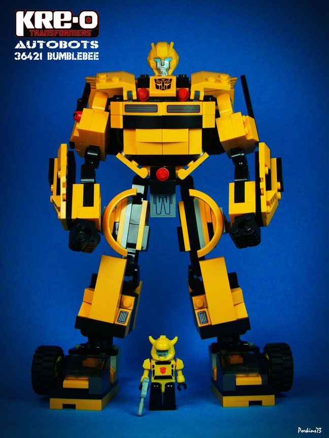 Red6 Kre O Transformers 36421 Autobot Bumblebee