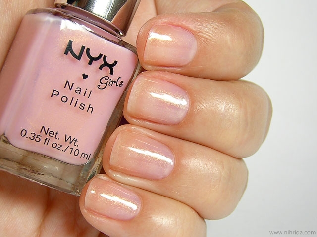 NYX Girls Nail Polish in Sunshine Pink