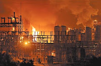 Explosion at Chemical Plant Injures 4