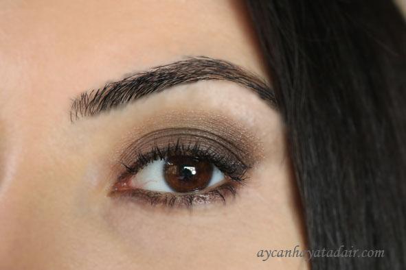 kolay göz makyajı