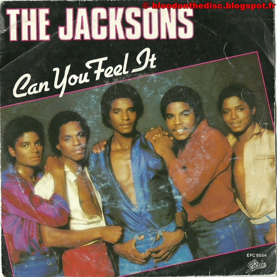 Can You Feel It 45T Front Cover