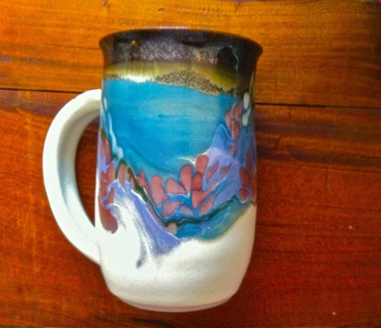 Functional handmade porcelain pottery