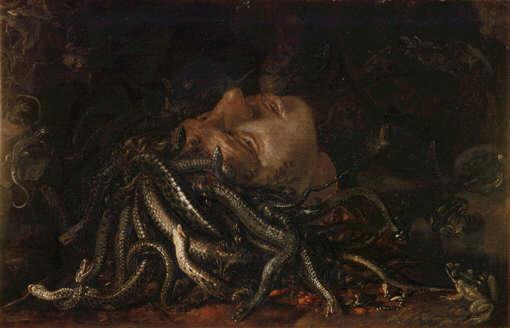 uffizi head medusa