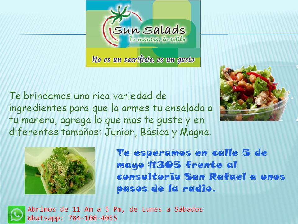"""Sun Salads"""