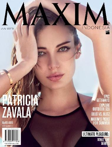 Download MAXIM Indonesia Magazine Edisi Juli 2015 Cover PATRICIA ZAVALA | www.insight-zone.com