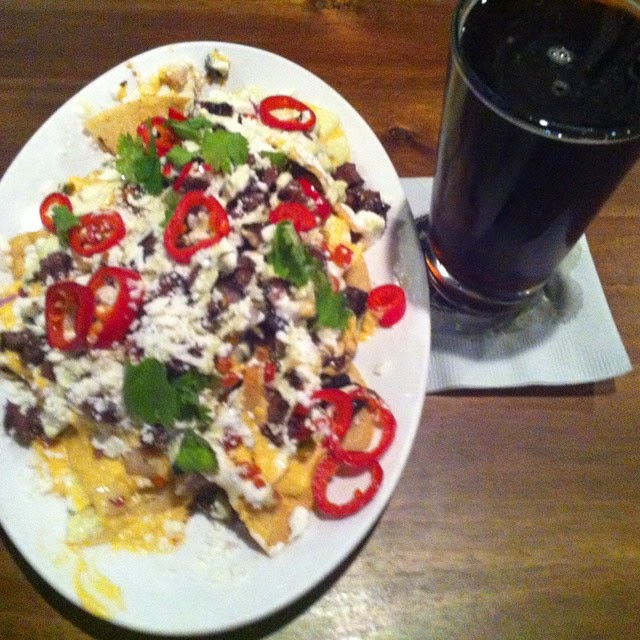 Field House American Sports Pub nachos