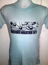 Vintage Nike Vancouver Marathon 1979