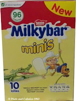 Nestle Milkybar minis ice cream box