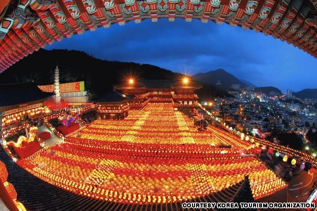 Samkwang Temple (삼광사 연등축제)
