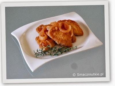 Filet z kurczaka w marynacie pomidorowej
