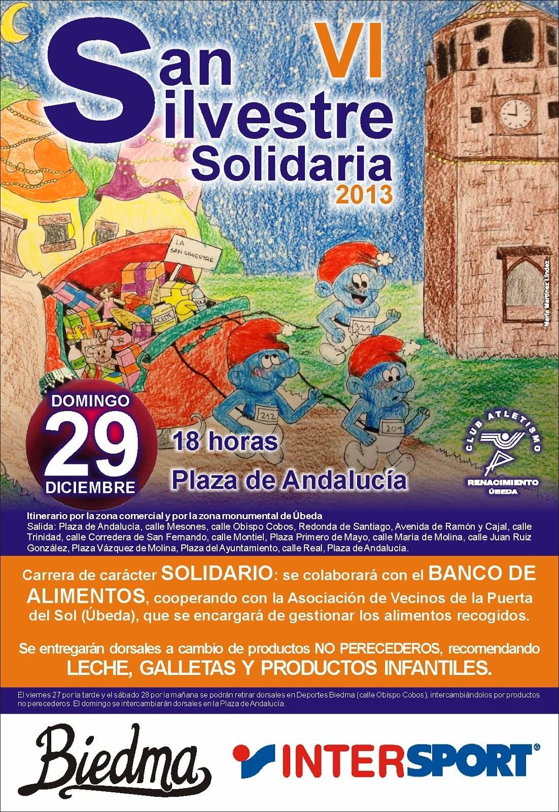 Cartel VI S. Silvestre solidaria de Úbeda