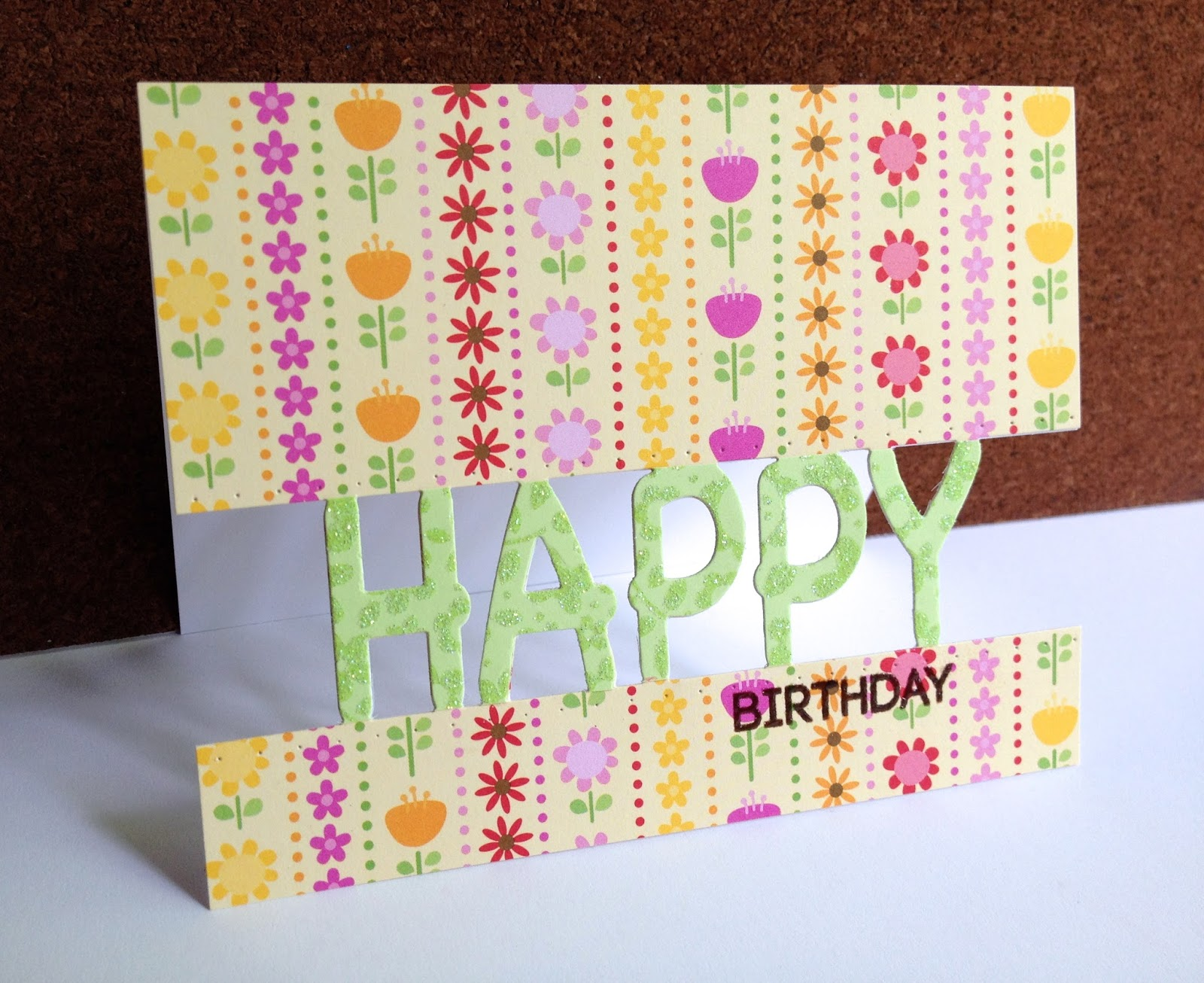 The Papers On All These Cards Are By Doodlebug From A Value Pack Of I Just Got Green Is Floral Sheet That Has Glitter It
