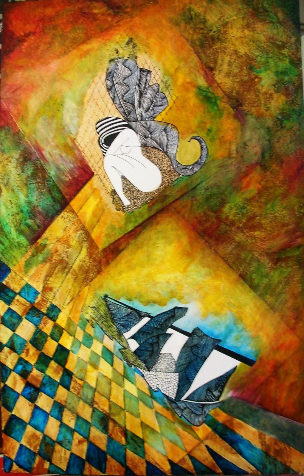 Cuadro de la artista Josefina Cabrera Piris