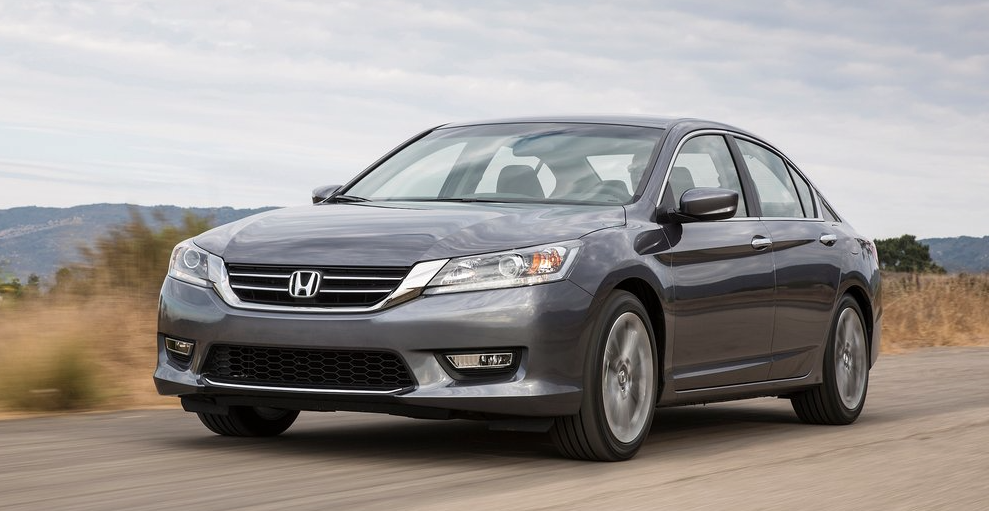 2013 Honda Accord grey