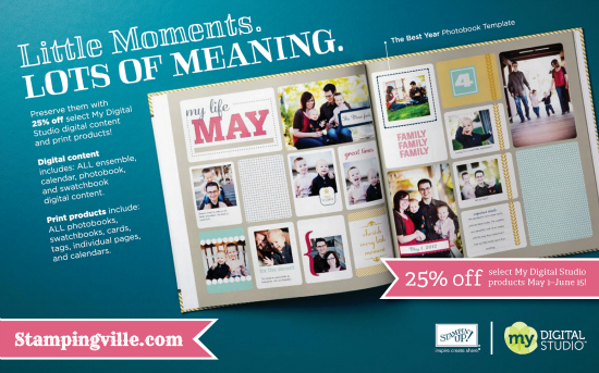 Stampin' Up! Digital Content Sale May 1-June 15