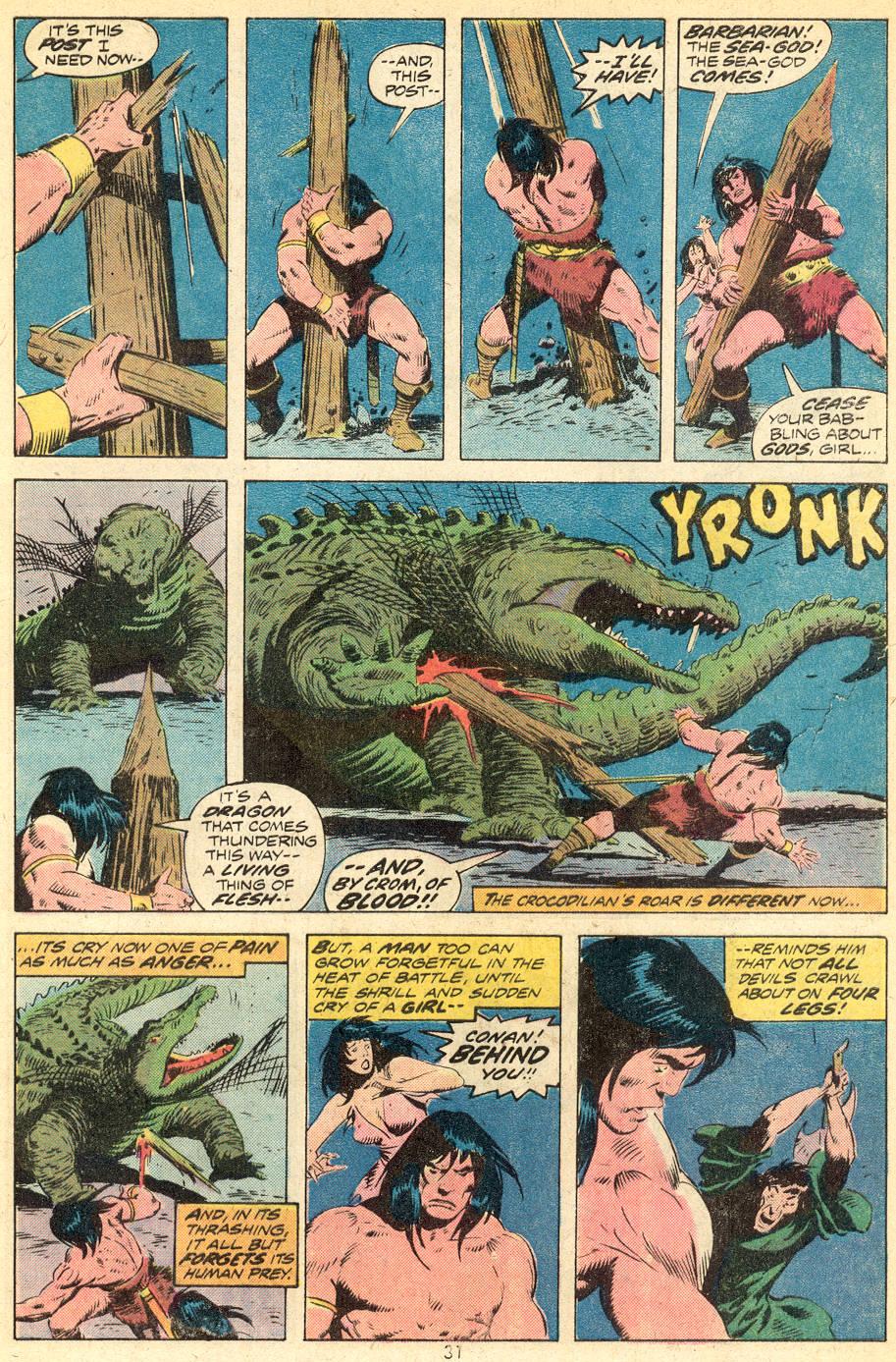 Conan the Barbarian (1970) Issue #39 #51 - English 19