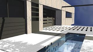Arquitectura arquidea casa minimalista en barcelona for Casa minimalista barcelona capital