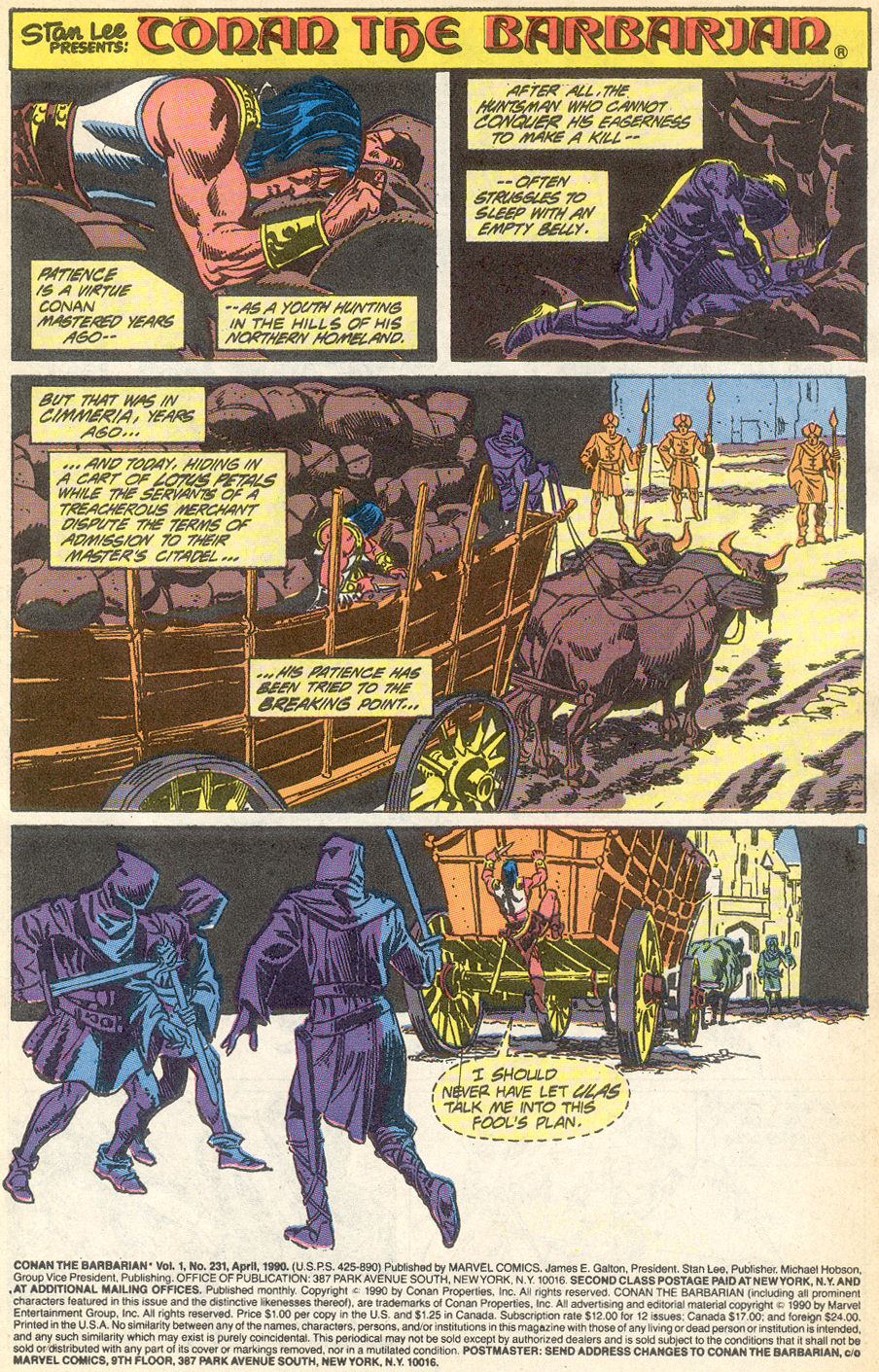Conan the Barbarian (1970) Issue #231 #243 - English 2
