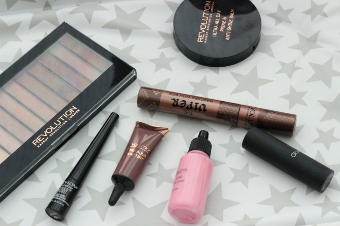 Key products used to create my Christmas party look