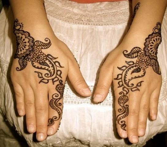 Mehndi Henna How To : The fashion time pakistani eid henna mehndi designs