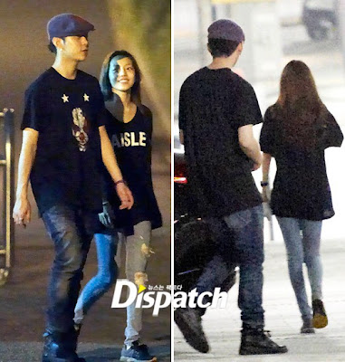 korean celebrity dating in real life