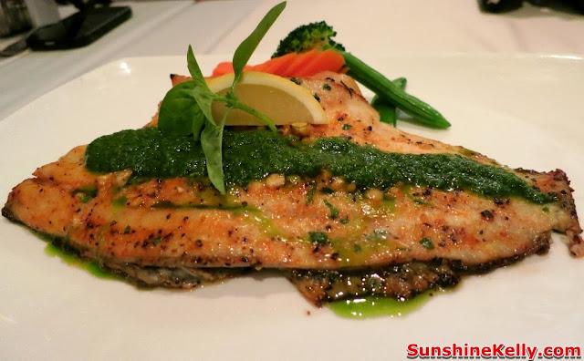 KL Restaurant Week, OPUS Bistro @ Bangkung, bangsar, Food Review, Italian food, cuisine, Grilled Seabass, seafood
