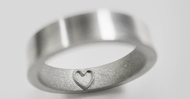 I Love You In Braille Ring
