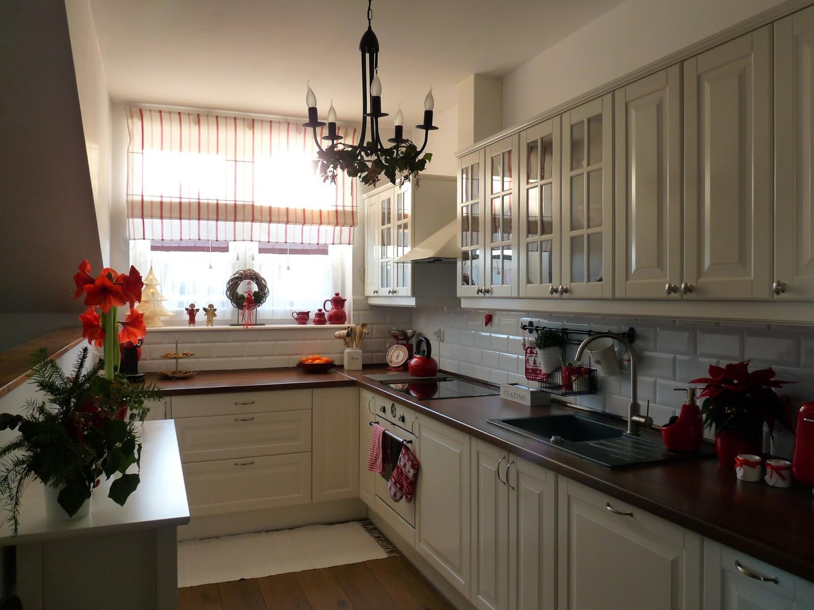 Kalinkowo Moja biała kuchnia z Ikei -> Moja Kuchnia Meble