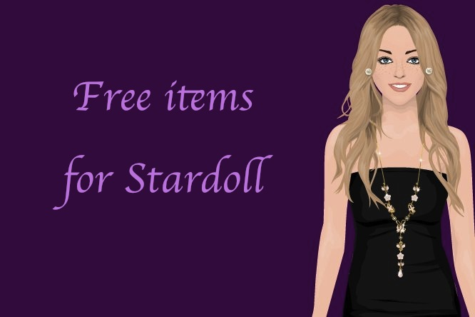 Free items for Stardoll