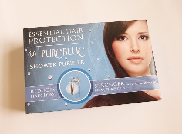 h2o pure blue shower filter pretty in the desert. Black Bedroom Furniture Sets. Home Design Ideas