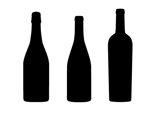 mission designs wine bottle silhouette vector file rh missiondesigns blogspot com wine bottle vector free download wine bottle vector png