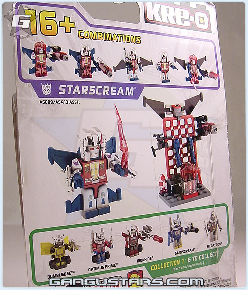 Transformers clear Starscream seekers Hasbro Kre-O LEGO g.i.joe Transformers クレオ トランスフォーマー