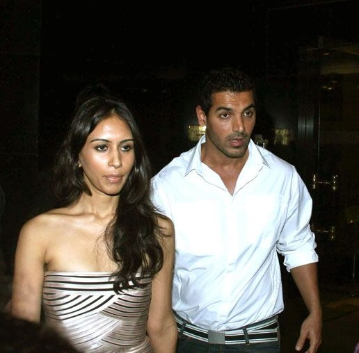 john abraham and priya runchal john with his lady love john abraham s    John Abraham Priya Runchal 2013
