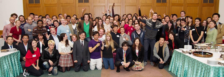 Sinh viên quốc tế tại Trường đại học Keio Nhật Bản