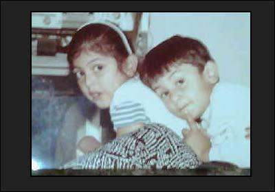 Ranbir Kapoor with Sister