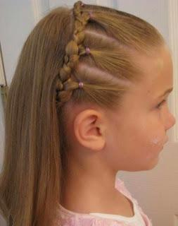 Model rambut panjang lurus tergerai cantik 2015