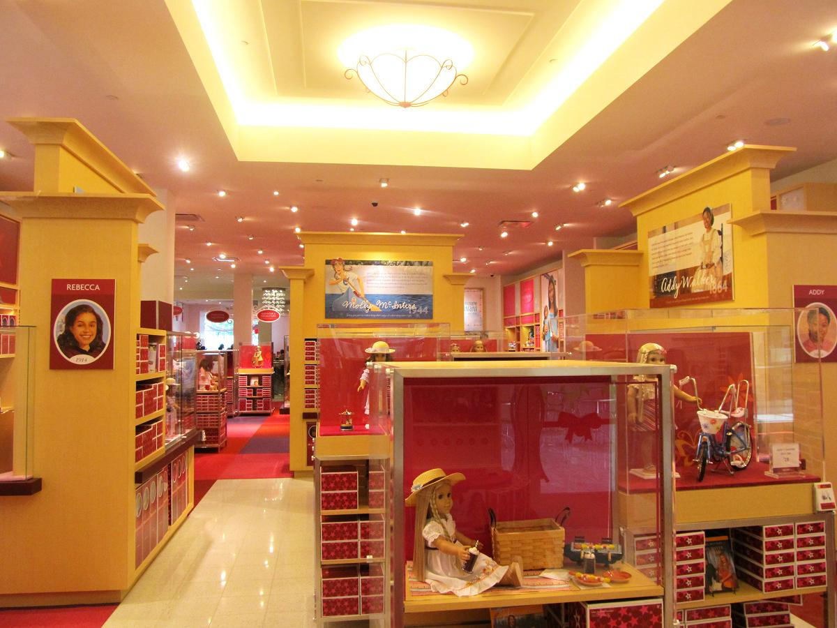 maryland pink and green american girl tysons corner