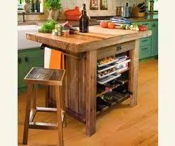 Idea para tener una isla en la cocina con escaso espacio