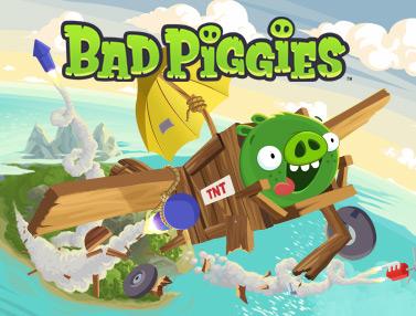 Bad Piggies iPhone screenshot