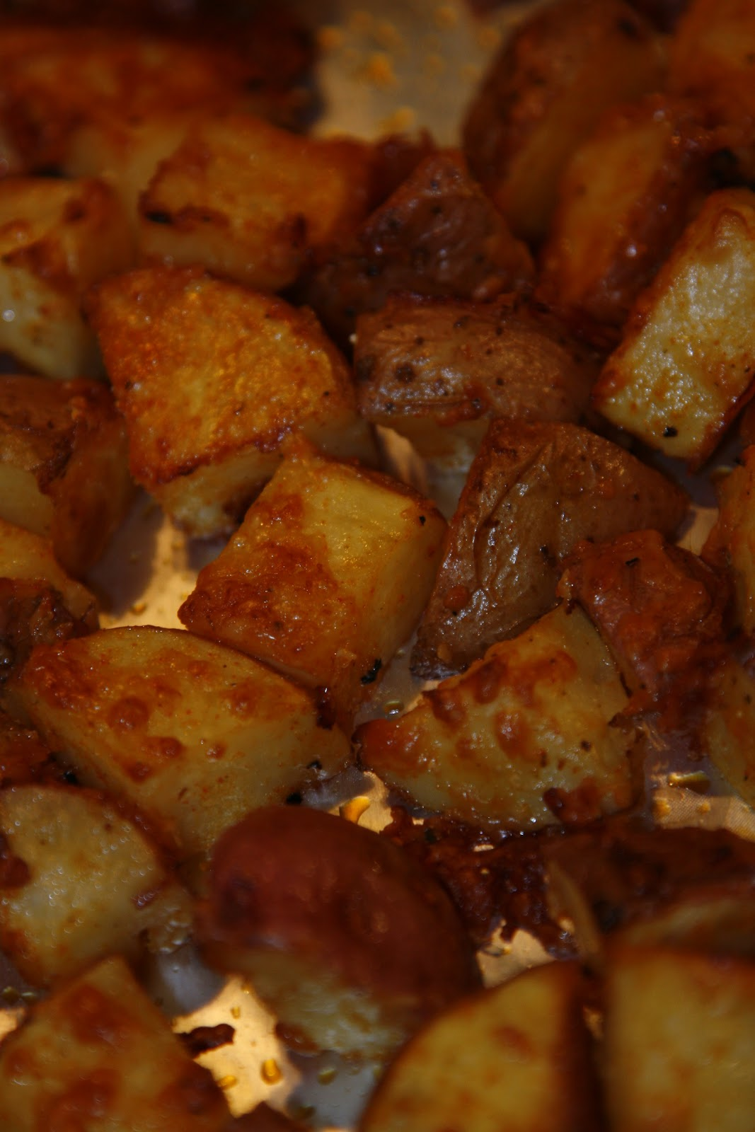 Make It Happen: Parmesan Roasted Potatoes