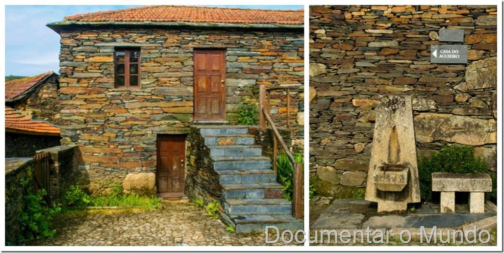 Casa do Aguieiro; Aldeia preservada de Quintandona
