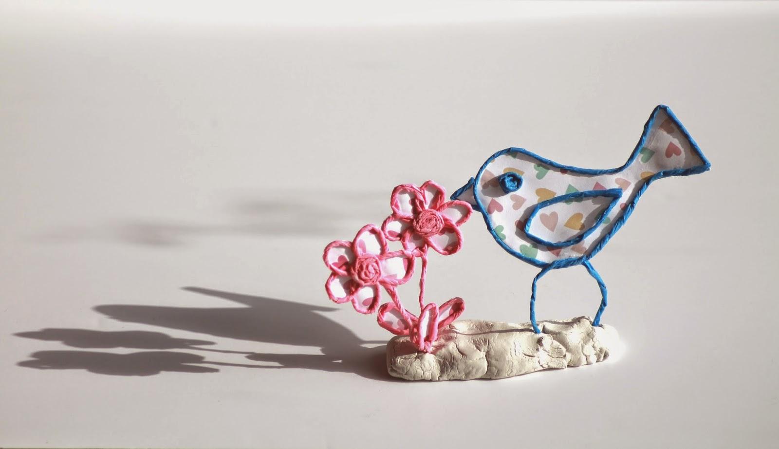 bluettine oiseau pour le d fi n 262 des serial crocheteuses more. Black Bedroom Furniture Sets. Home Design Ideas