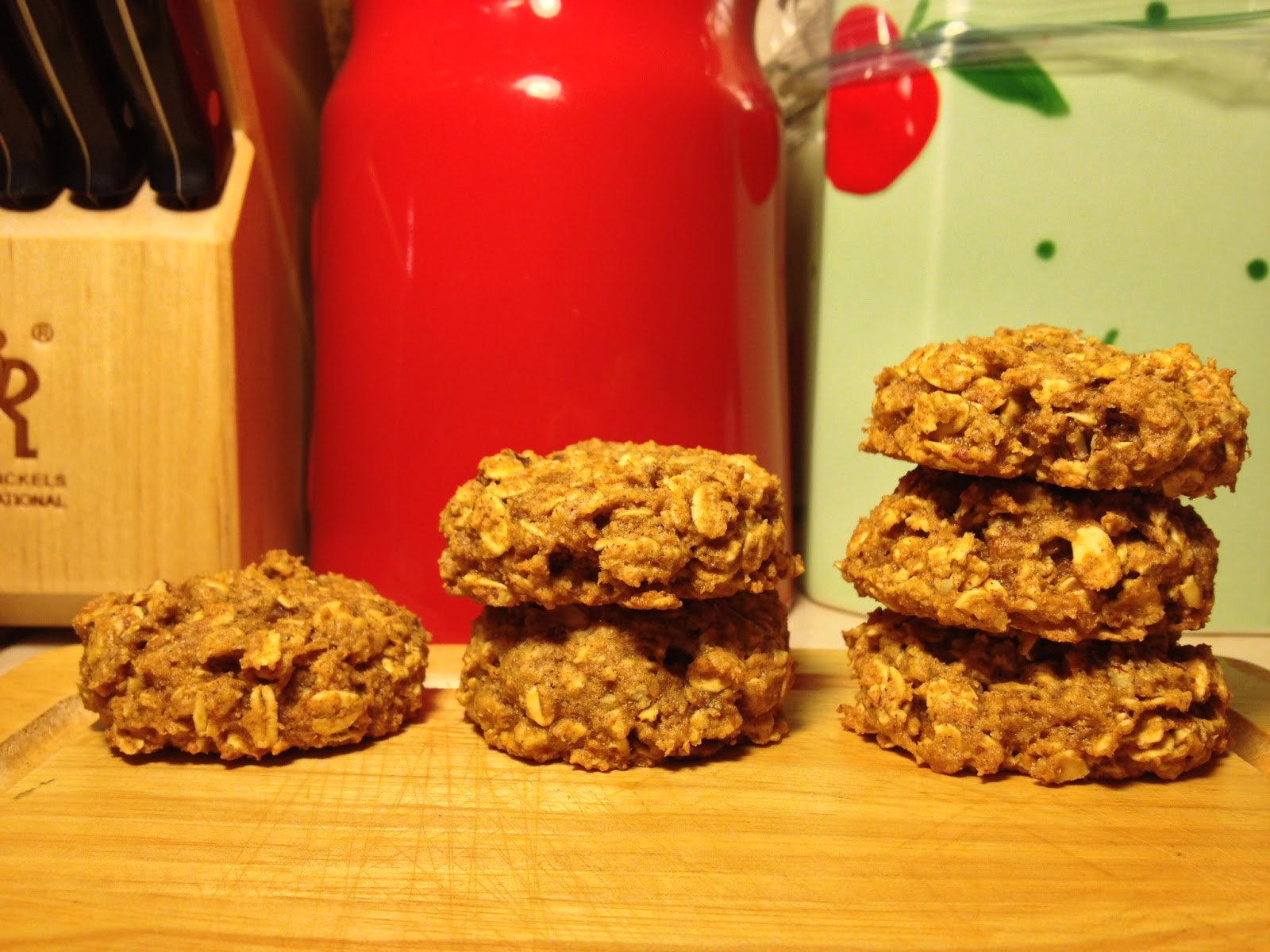 Sweet Cinnamon & Honey: Pumpkin Oatmeal Pecan Cookies