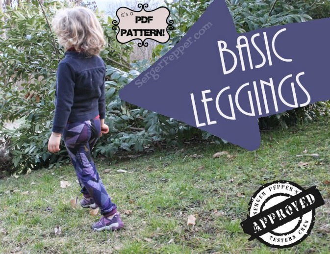 Serger Pepper Basic Leggings