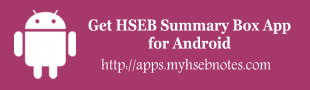 HSEB Summary Box app
