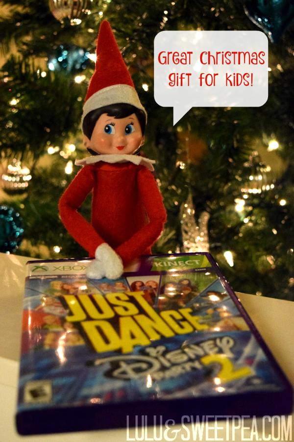 Lulu & Sweet Pea: Merry (early) Christmas w/ #JustDanceDisneyParty2